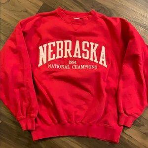 Vintage Nebraska Cornhuskers Crewneck Sweatshirt